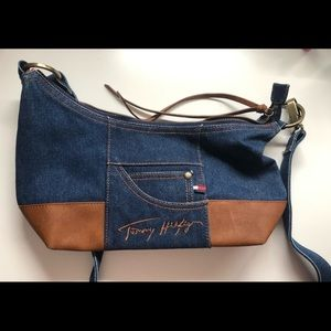 🟣2 for $70🟣 Vintage Tommy Hilfiger Jean Purse